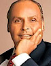 Dhirubhai Ambani's photo - Founder of Reliance Industrial Products Ltd.