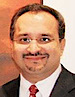 Dinesh Vazirani's photo - CEO of Saffronart Management Corporation