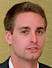 Evan Spiegel's photo - Co-Founder & CEO of Snap