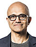 Satya Nadella's photo - CEO of Outlook
