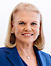 Virginia M. Rometty's photo - Chairman & CEO of IBM