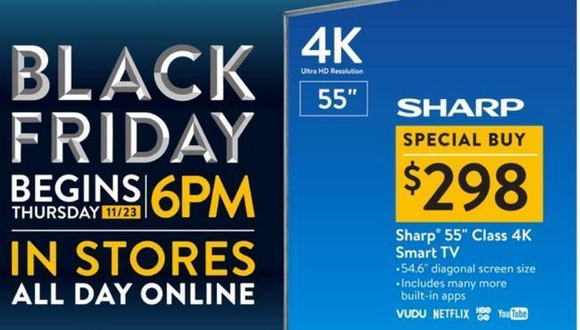 walmart news walmart black friday sale begins thanksgiving day early deals start now cnet. Black Bedroom Furniture Sets. Home Design Ideas