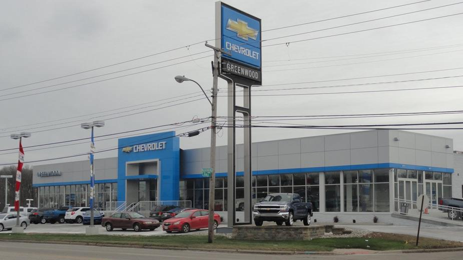 General Motors News Gm Names Greenwood Showrooms 39 Green Dealers 39