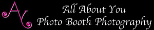 """""""all About You"""" Photo Booth Photography's Company logo"""