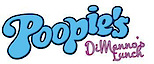 """""""poopies"""" Dimanno's Lunch's Company logo"""