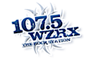 107.5 Wzrx - The Rock Station's Company logo