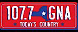 107.7 GNA's Company logo