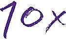 10x's Company logo