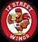 Zebda's Competitor - 12 Street Wings logo