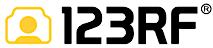 123RF's Company logo