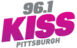 Kxus's Competitor - 96.1 KISS - Pittsburgh logo