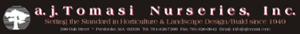 A. J. Tomasi Nurseries's Company logo