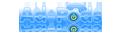A Bluetooth Marketing Device's Company logo
