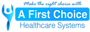 A First Choice Healthcare's Company logo