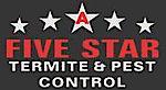 A Five Star Pest's Company logo