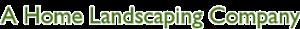 A Homelandscaping's Company logo