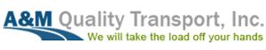 A&M Quality Transport's Company logo