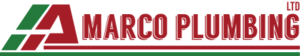 A Marco Plumbing's Company logo