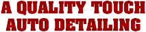 A Quality Touch Mobile Detailing's Company logo