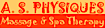 B. Indulgent Skin Essentials's Competitor - A.S. Physiques logo