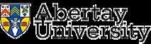 The University of Abertay Dundee's Company logo