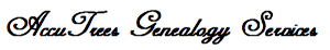 Accutrees Genealogy Services's Company logo