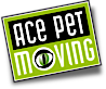 Ace Pet Moving's Company logo