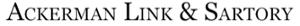 Ackerman, Link & Sartory's Company logo