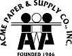 Acme Paper's Company logo