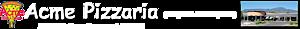 Acme Pizzaria's Company logo