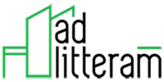 Ad Litteram's Company logo