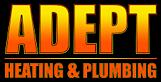Adept Heating and Plumbing's Company logo