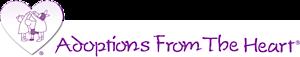 adoptions from the heart's Company logo