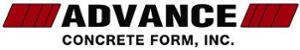 Advance Concrete Form's Company logo
