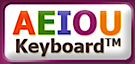 AEIOU Keyboard's Company logo