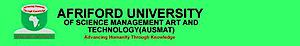 Afriford University's Company logo