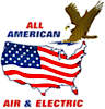 All American Air & Electric's Company logo