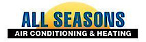 All Season provides professional air conditioning, heating's Company logo