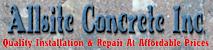 Allsite Concrete's Company logo