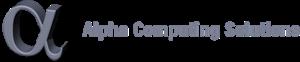 Alphacomputing's Company logo