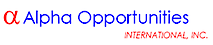 Alpha Opportunities International's Company logo