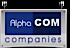 Alphacom Media Companies Logo