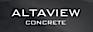 Altaview Concrete Logo