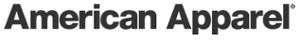 American Apparel's Company logo
