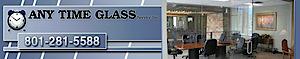 Any Time Glass, Service's Company logo