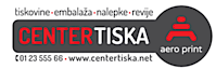 Tiskarna Aero Print, Center tiska Ljubljana, Aero's Company logo