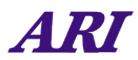ARI's Company logo