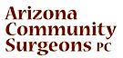 Arizona Community Surgeons's Company logo