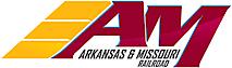 Arkansas & Missouri Railroad's Company logo