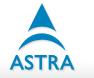 ASTRA's Company logo